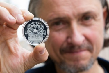 Collector coin – to mark Francysk Skaryna's first steps in printing